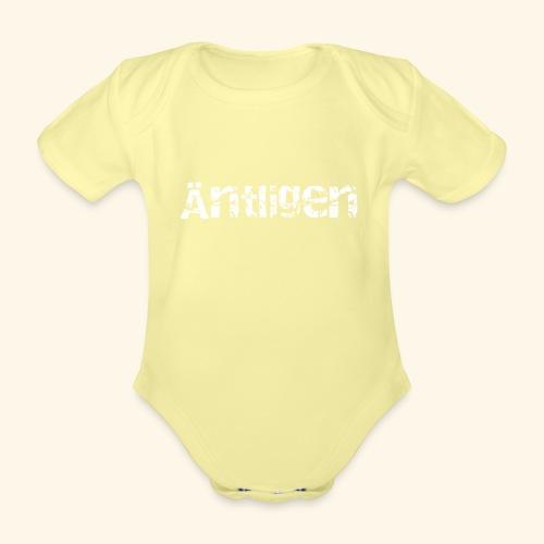 aentligen - Ekologisk kortärmad babybody
