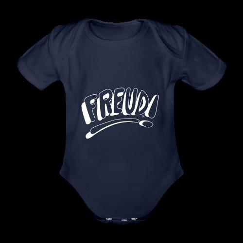 Freud! - Body orgánico de maga corta para bebé