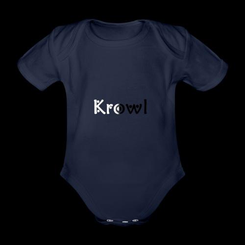 Krowl 1st Yin & Yang Design - Body Bébé bio manches courtes