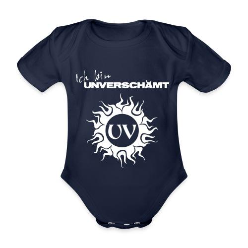 Ich bin UNVERSCHÄMT inkl Logo - Baby Bio-Kurzarm-Body