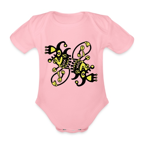 Tribal T-Shirt Design - Baby Bio-Kurzarm-Body