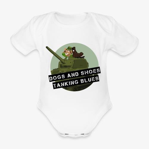 logo dogs nieuw - Baby bio-rompertje met korte mouwen