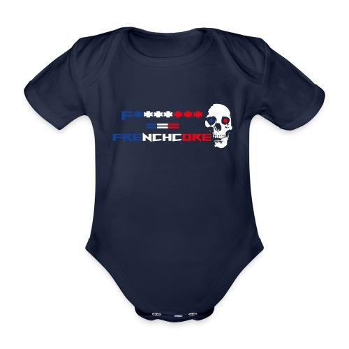 Frenchcore 02 - Baby Bio-Kurzarm-Body