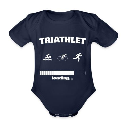 Triathlet loading... Baby Motiv - Baby Bio-Kurzarm-Body