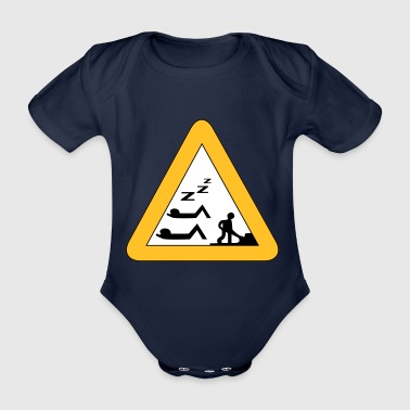 job - Organic Short-sleeved Baby Bodysuit