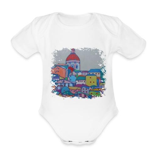 Lissabon - Baby Bio-Kurzarm-Body