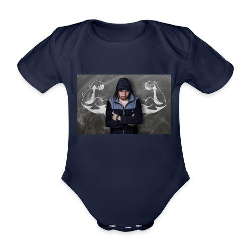 Power - Baby Bio-Kurzarm-Body
