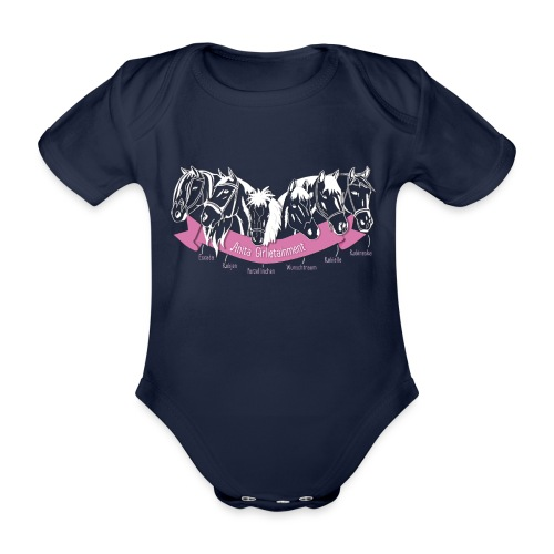 Anita Girlietainment Herde - Baby Bio-Kurzarm-Body