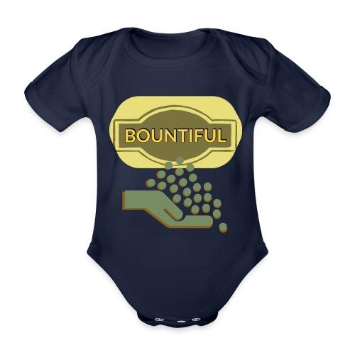 Bountiful - Organic Short-sleeved Baby Bodysuit