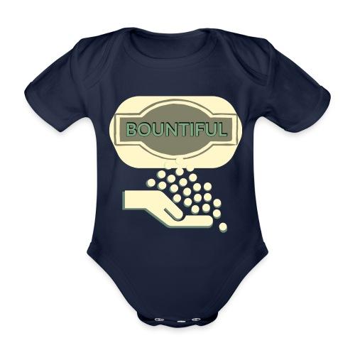 Bontifull - Organic Short-sleeved Baby Bodysuit