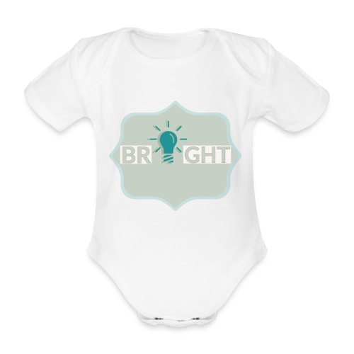 bright - Organic Short-sleeved Baby Bodysuit