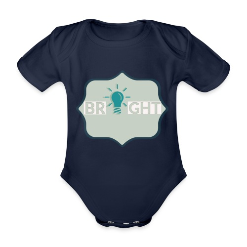 bright - Organic Short-sleeved Baby Bodysuit