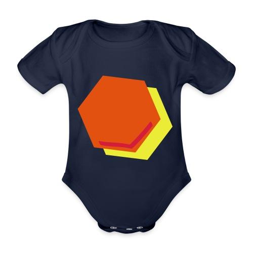 detail2 - Baby bio-rompertje met korte mouwen