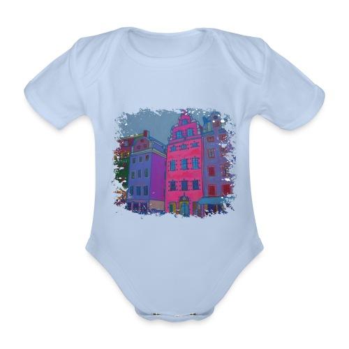 Stockholm - Baby Bio-Kurzarm-Body