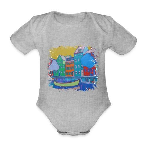 Kopenhagen - Baby Bio-Kurzarm-Body