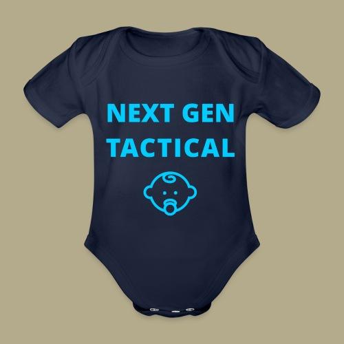 Tactical Baby Boy - Baby bio-rompertje met korte mouwen