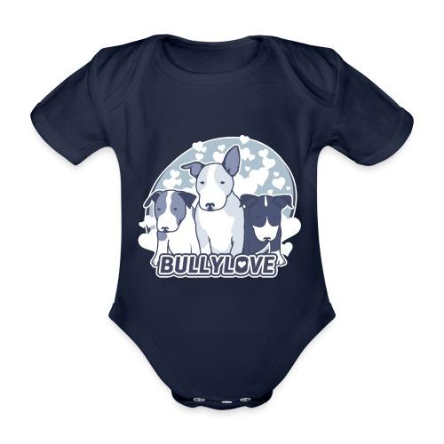 Bullterrier WELPEN - Baby Bio-Kurzarm-Body