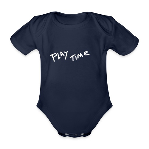 Play Time Tshirt - Organic Short-sleeved Baby Bodysuit