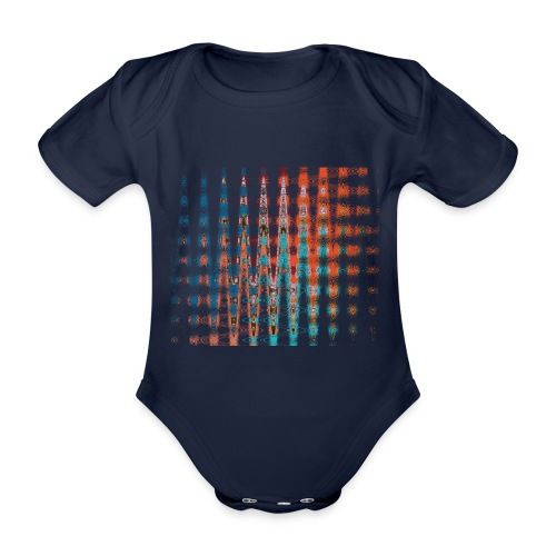 Spacetime by Eve Nord - Baby Bio-Kurzarm-Body
