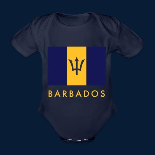 Barbados - Baby Bio-Kurzarm-Body