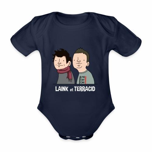 Laink et Terracid - Body Bébé bio manches courtes