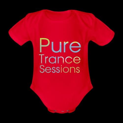 PureTrance100 transparantGROOT kopie png - Organic Short-sleeved Baby Bodysuit