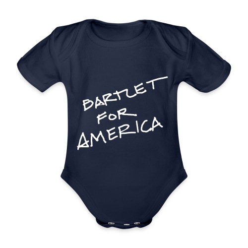 Bartlet For America - Organic Short-sleeved Baby Bodysuit