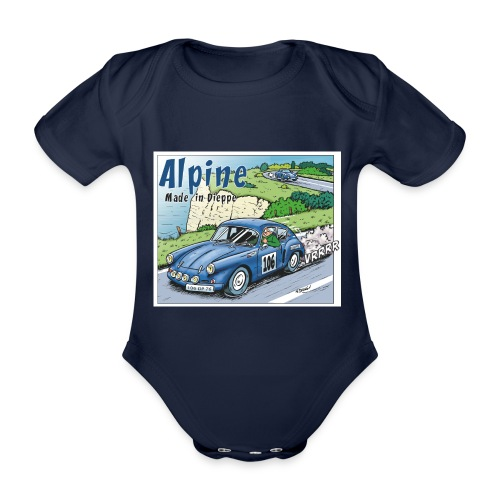 Polete en Alpine 106 - Body Bébé bio manches courtes