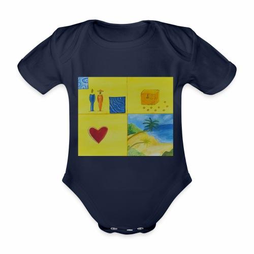 Viererwunsch - Baby Bio-Kurzarm-Body