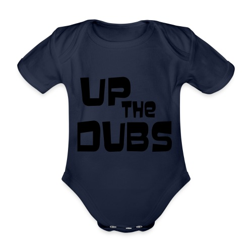 UP the DUBS - Organic Short-sleeved Baby Bodysuit