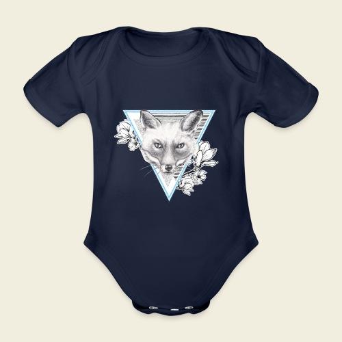 Frühlings-Fuchs - Baby Bio-Kurzarm-Body