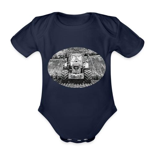 Ackerschlepper - Baby Bio-Kurzarm-Body
