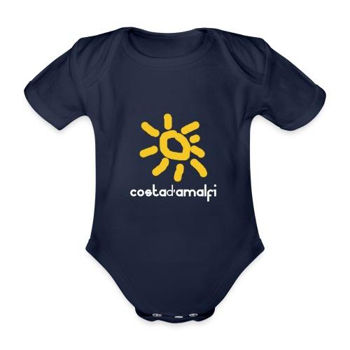 costadamalfi - Body ecologico per neonato a manica corta