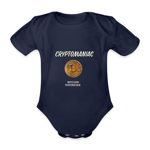 Cryptomaniac - Body ecologico per neonato a manica corta