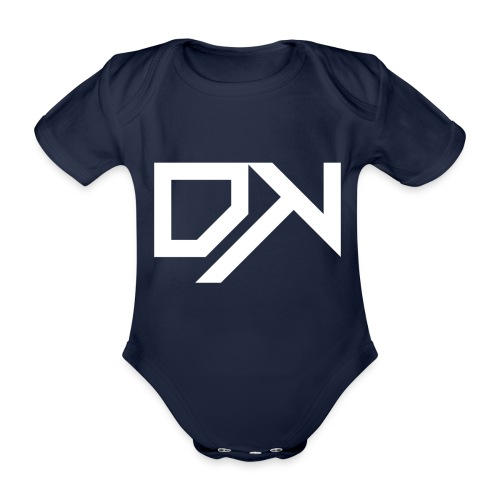 DewKee Logo Mug White - Organic Short-sleeved Baby Bodysuit