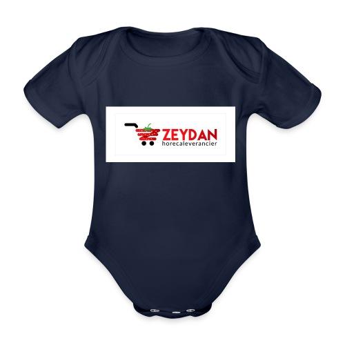 Zeydan - Baby bio-rompertje met korte mouwen