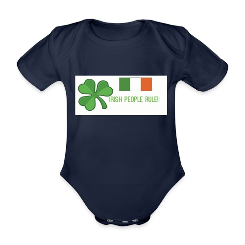 Exclusive St. Patrick's Day Clothes For Kids - Organic Short-sleeved Baby Bodysuit