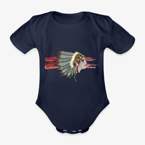 Native american - Body Bébé bio manches courtes