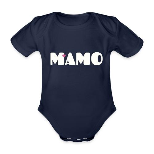 MAMO - Body ecologico per neonato a manica corta