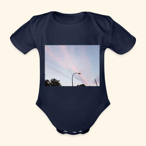 Abendhimmel - Baby Bio-Kurzarm-Body