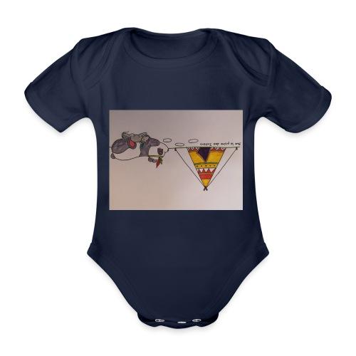 Animaux rigolos pour des accessoires bébé bio - Body bébé bio manches courtes