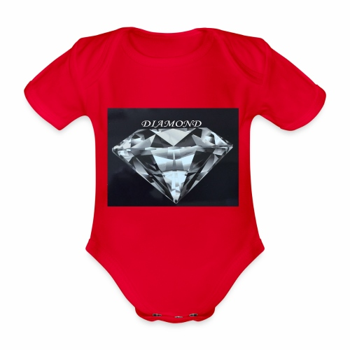 Diamond - Ekologisk kortärmad babybody