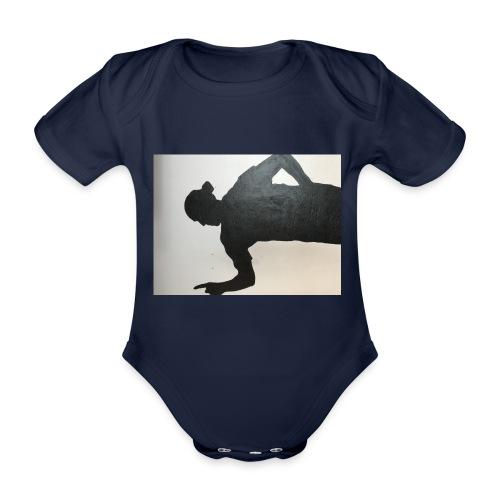 Zlatan - Ekologisk kortärmad babybody