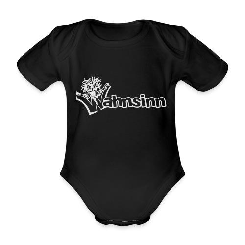 Wahnsinn Logo - Baby bio-rompertje met korte mouwen