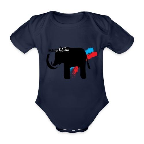 Macca Liotru - Body ecologico per neonato a manica corta