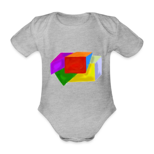 boxes - Organic Short-sleeved Baby Bodysuit