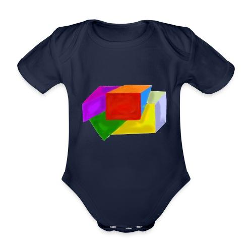 boxes - Organic Short-sleeved Baby Bodysuit