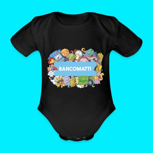 Bancomatti DOODLE 1 - Body ecologico per neonato a manica corta