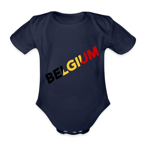 BELGIUM - Body Bébé bio manches courtes