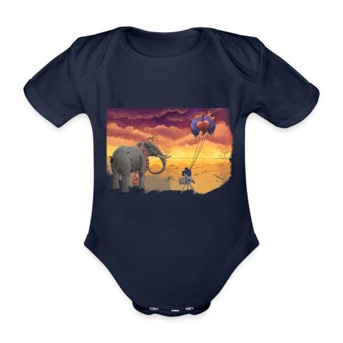 Savanna - Baby Bio-Kurzarm-Body